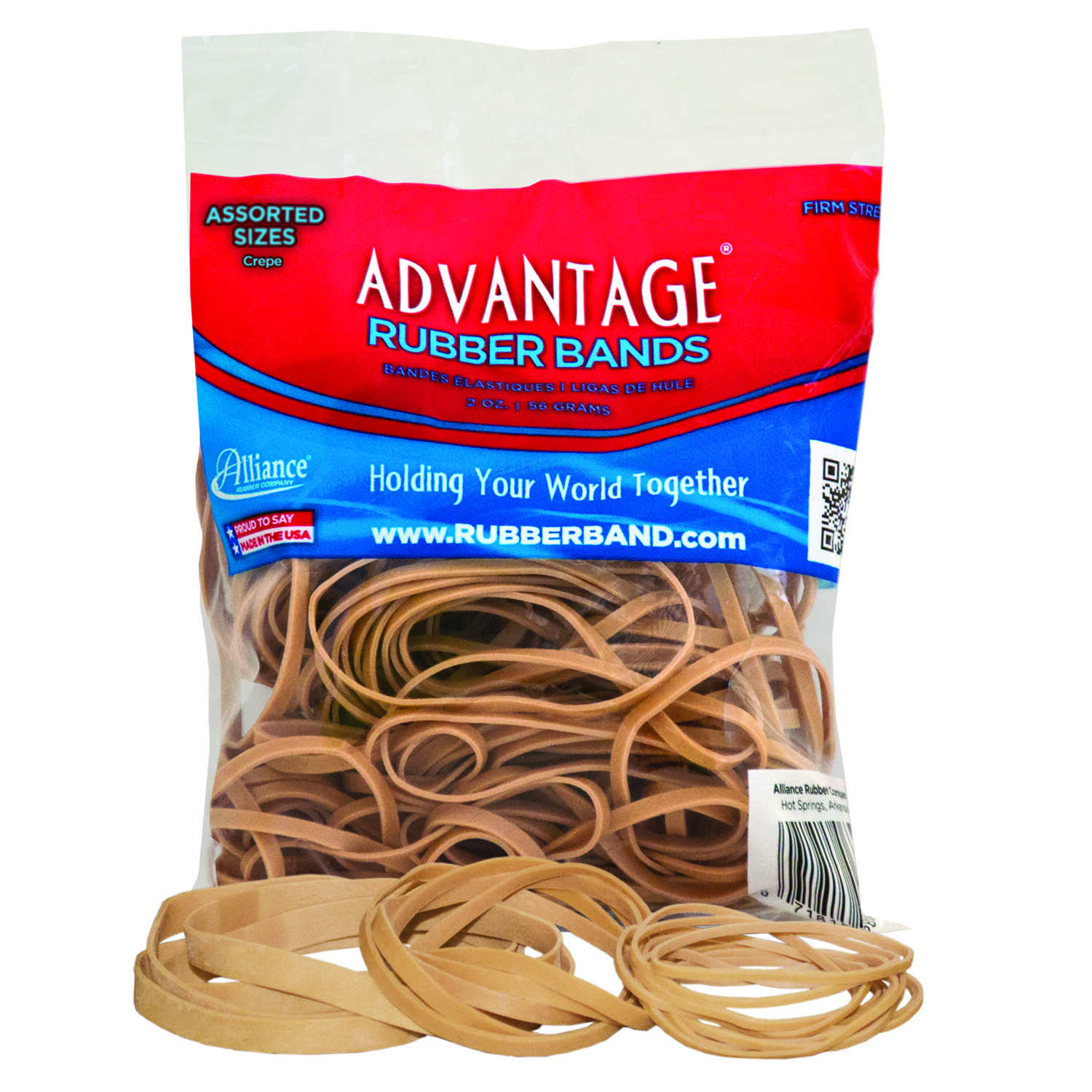Alliance  Rubber Bands  2 oz.