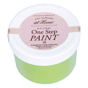 Amy Howard at Home  Dunavant Green  Flat Chalky Finish  8 oz. One Step Paint