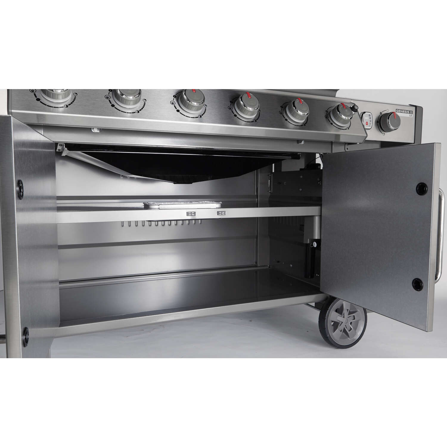 Weber  Genesis II LX S-640  6 burners Natural Gas  Stainless Steel  Grill  72000 BTU