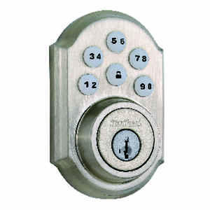 Kwikset  SmartCode  Satin Nickel  Metal  Electronic Deadbolt