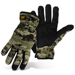 CAT Pro Series Men's Outdoor Utility Gloves Camouflage XL 1 pair