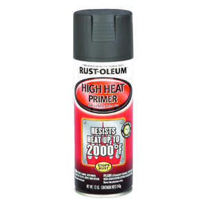 Rust-Oleum  Automotive  Liquid  12 oz. Automotive High Heat Primer Spray