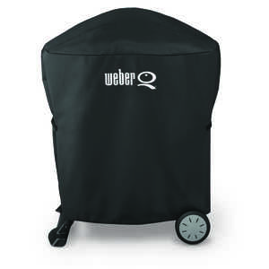 Weber  Black  Grill Cover  35 in. H x 32.2 in. W x 17.3 in. D For Fits Weber Q 100/1000 and Weber Q