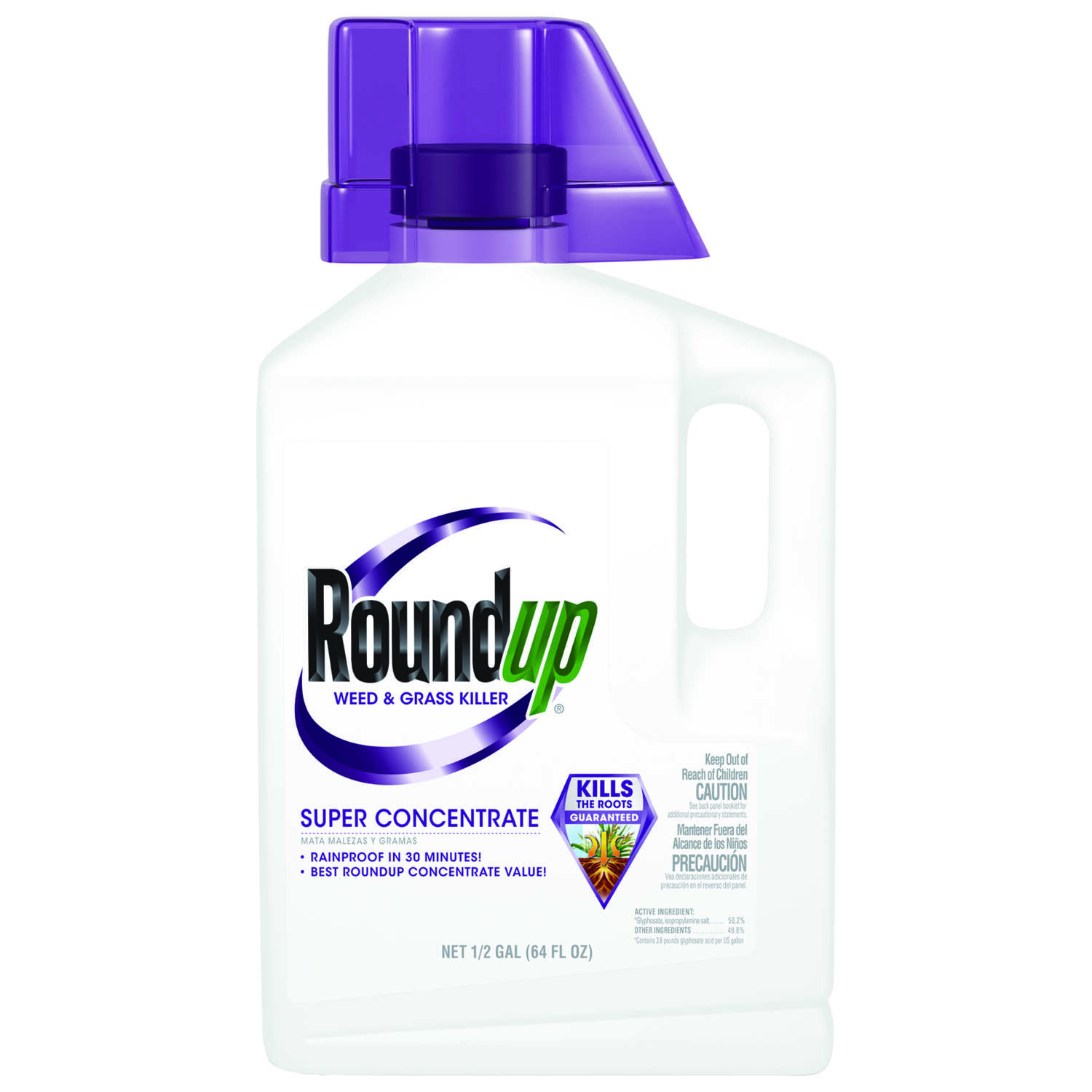 Roundup  Super Concentrate  Weed and Grass Killer  Concentrate  0.5 gal.