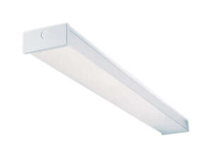 Metalux  2 lights Fluorescent Light Fixture  48 in.