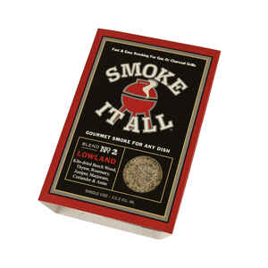 Smoke It All  Lowland  Rosemary And Juniper  Smoking Dust  3.1 oz.
