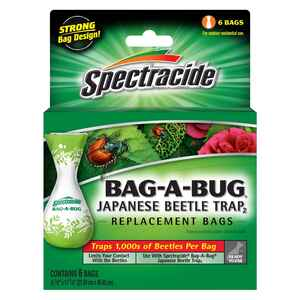 Spectracide  Bag-A-Bug  Insect Trap  6 pk