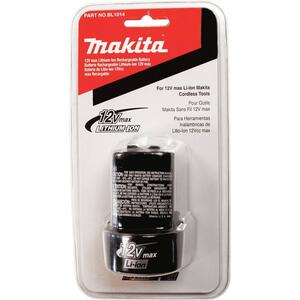Makita  12 volt Lithium-Ion  Battery  1 pc.