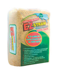 Rhino Seed  EZ-Straw  Brown  Seeding  Mulch  2.5 cu. ft. 500 sq. ft.