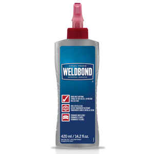 Weldbond  High Strength  Polyvinyl acetate homopolymer  All Purpose Adhesive  14.2 oz.