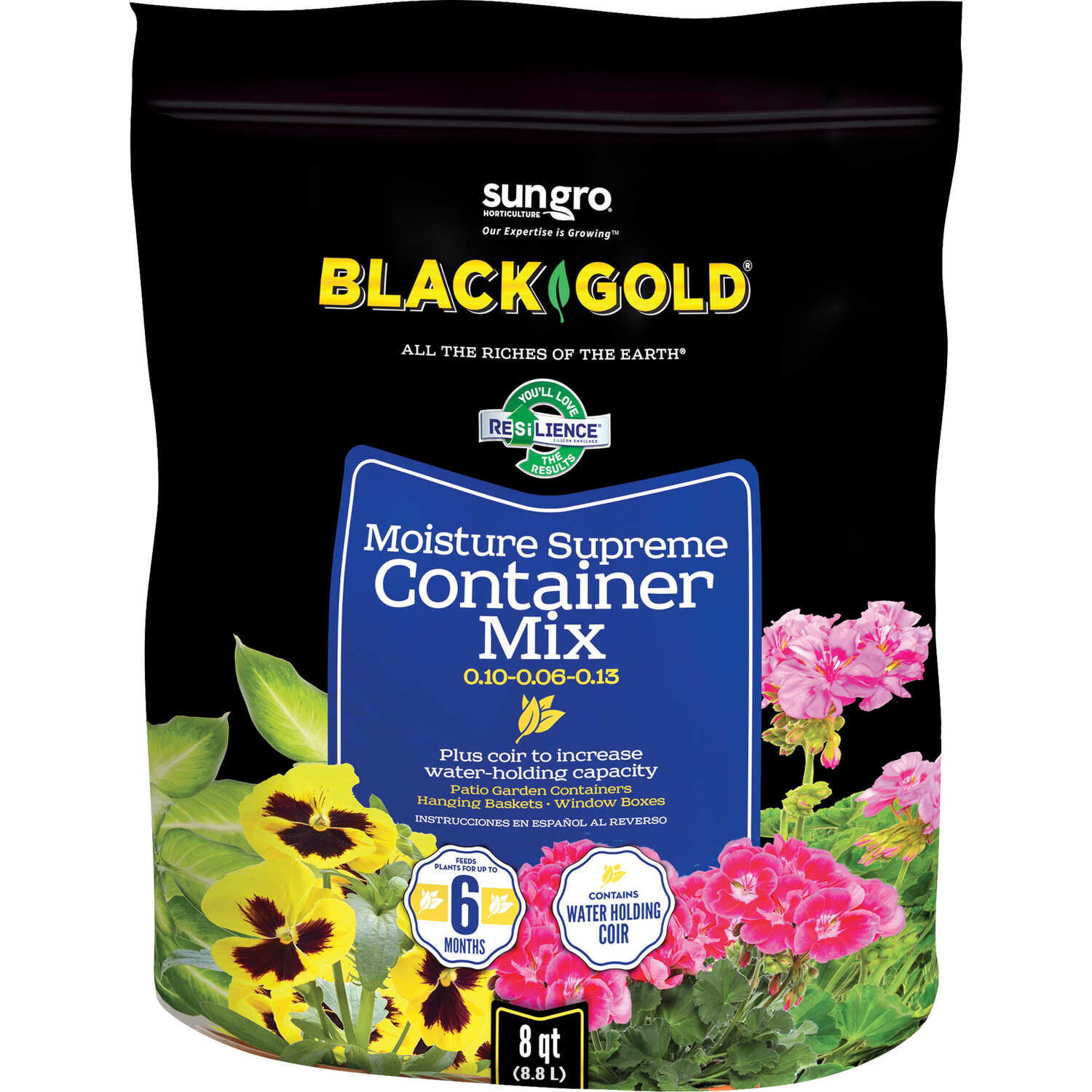 Black Gold  Potting Mix  8 qt.