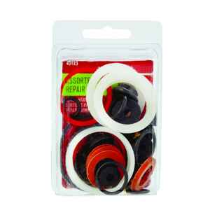 Ace  Assorted in. Dia. Rubber  Washer Emergency Kit  1 pk