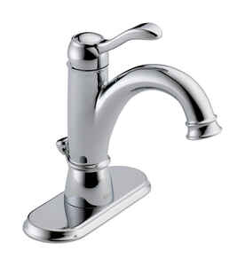 Delta  Porter  Single Handle  Lavatory Faucet  4 in. Chrome