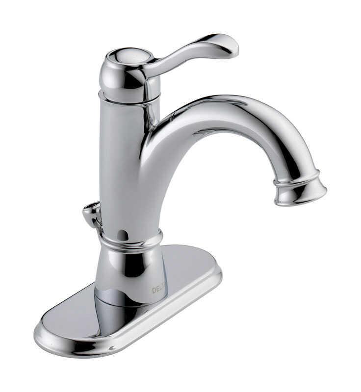 Delta Porter Single Handle Lavatory Pop Up Faucet 4 In