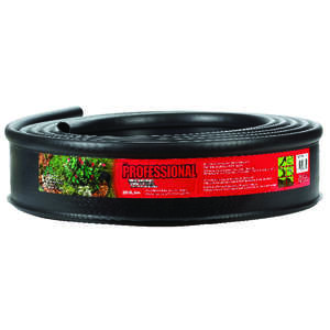 Master Mark  Master Gardener Plus  240 in. L x 4.5 in. H Lawn Edging  Plastic  Black