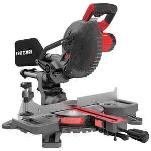 Craftsman  V20  7-1/4 in. Cordless  Sliding Miter Saw  Kit 20 volt 3800 rpm