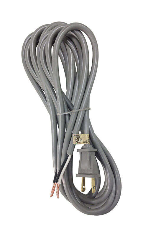 Ace  18/2 SVT  Vacuum Cleaner Cord  20 ft. L