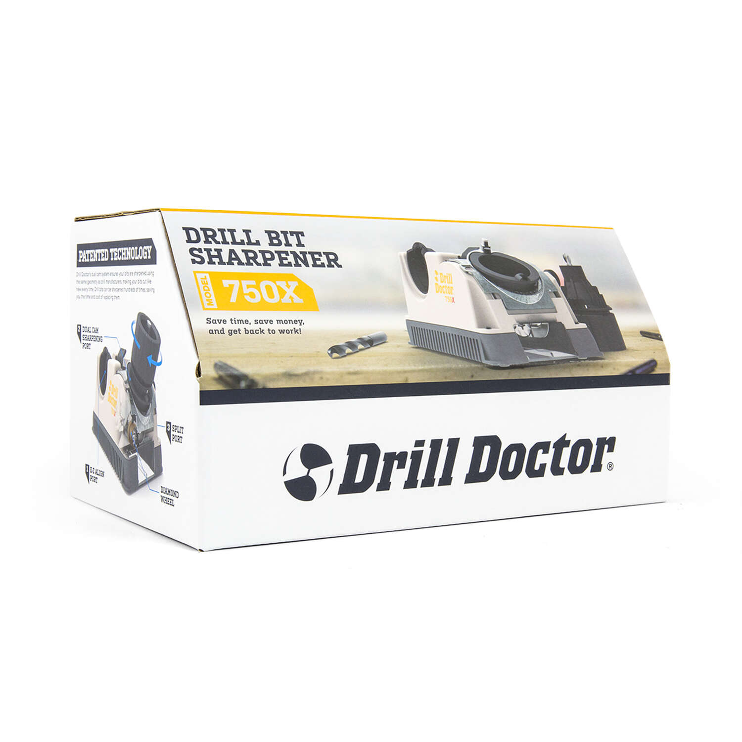 Drill Doctor  115 volts 1.75 amps Drill Bit Sharpener  15000 rpm 1 pc.