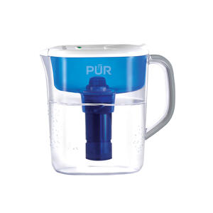 PUR  Blue/White  88 oz. Blue  Water Filtration Pitcher
