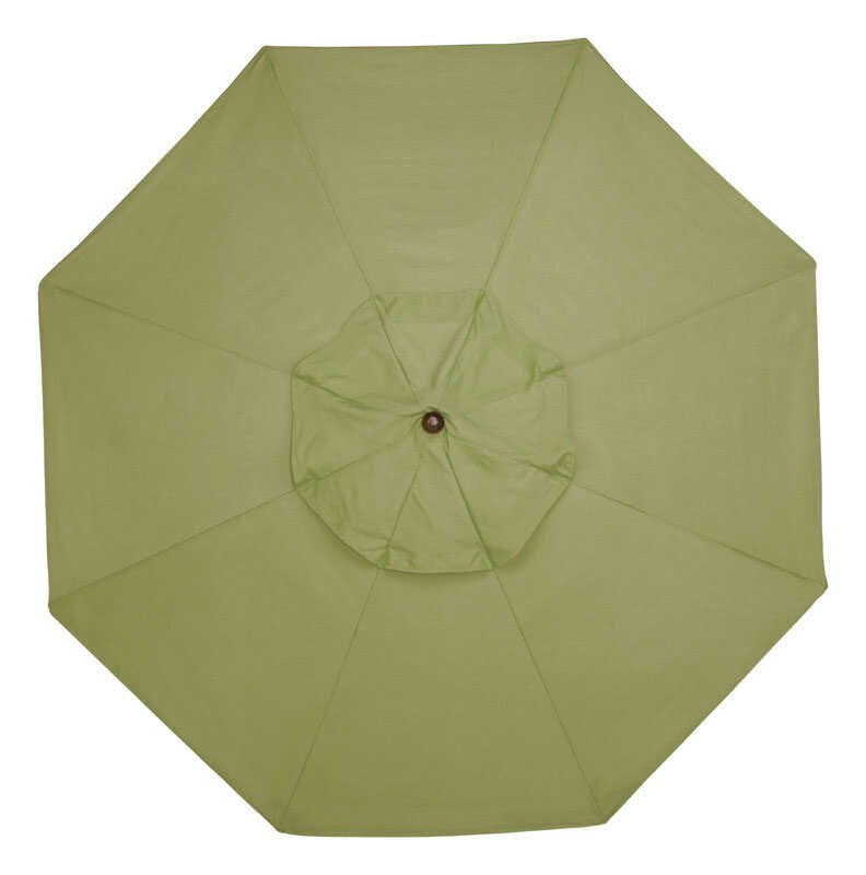 Sunline  Traditional  9 ft. Tiltable Kiwi  Market Umbrella