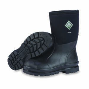 The Original Muck Boot Company  Chore Mid  Men's  Steel Shank Boots  8 US  Black