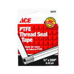 Ace  Blue  300 in. L x 1/2 in. W Thread Seal Tape  0.3 oz.