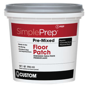 Custom Building Products  SimplePrep  Ready to Use Gray  Patch  1 qt.