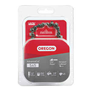 Oregon  AdvanceCut  12 in. 45 links Chainsaw Chain