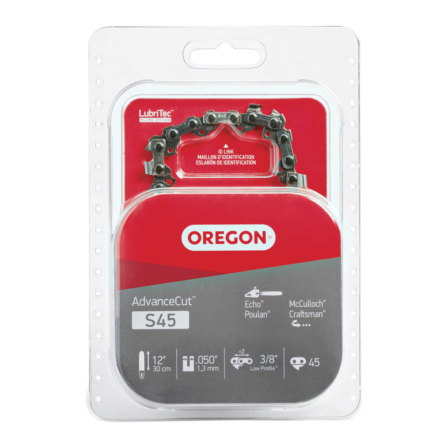 Oregon  12 in. 45 links Chainsaw Chain