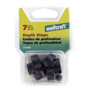 Wolfcraft  Drill Stop Set  7 pc.