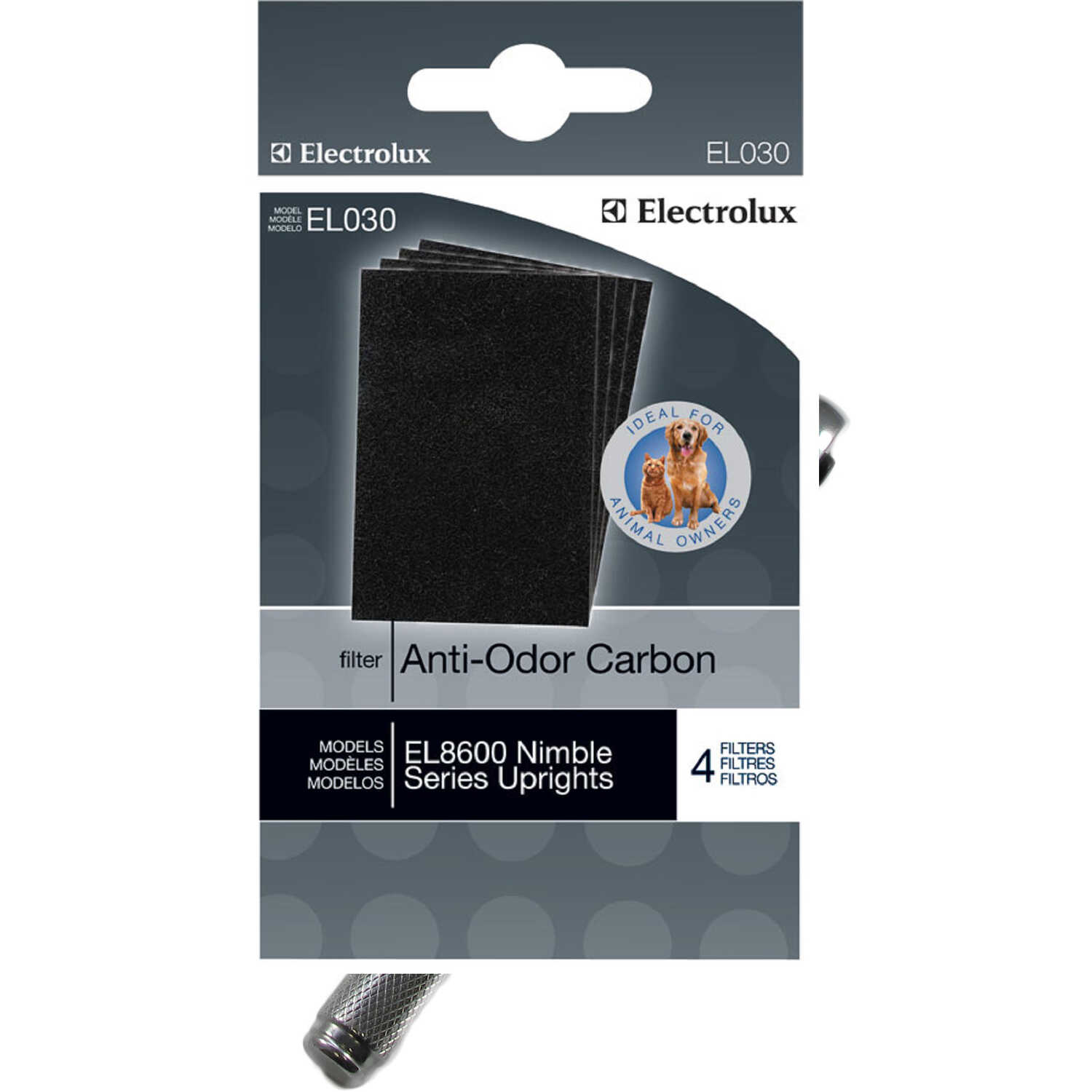 Electrolux  Anti-Odor Carbon  Vacuum Filter  For Precsision and Nimble Brushroll Clean 4 pk