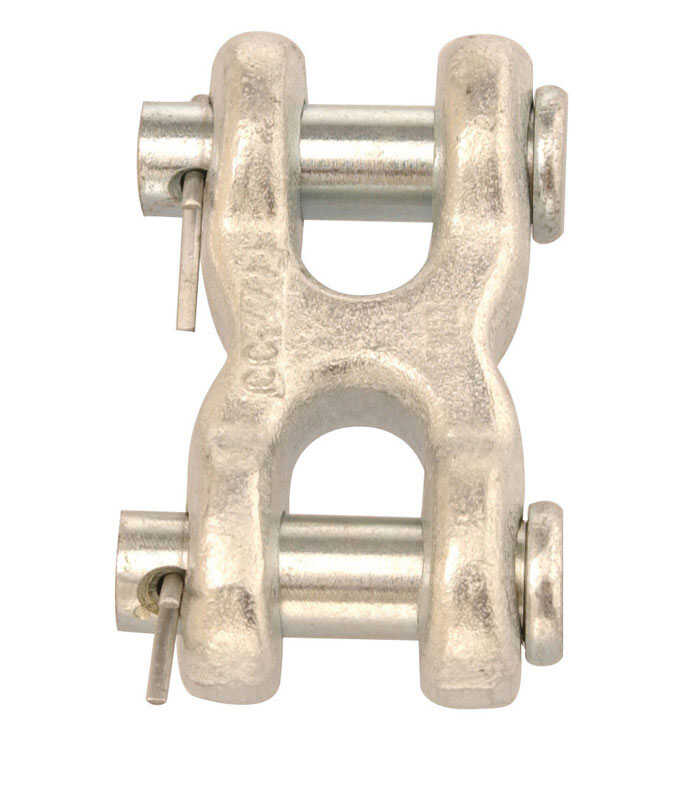 Campbell Chain  Zinc-Plated  Forged Steel  Double Clevis  3900 lb. 2-1/2 in. L