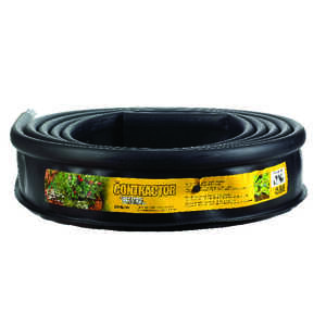 Master Mark  Master Gardener Pro  20 ft. L x 5 in. H Black  Plastic  Lawn Edging