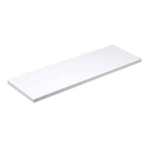 Knape & Vogt  12 in. H x 12 in. W x 48 in. D White  Particleboard/Melatex Laminate  Shelf Board