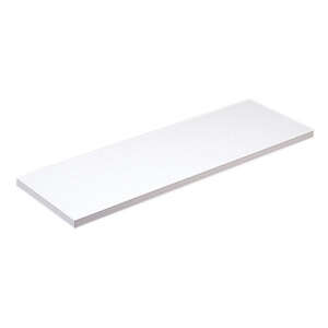 Knape & Vogt  12 in. H x 12 in. W x 48 in. D Shelf Board  Particleboard/Melatex Laminate  White