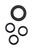 Gardena  5/8 in. Rubber  Hose Washer And O-Ring Set
