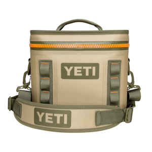 YETI  Hopper  Cooler  8 cans Tan  1 pk