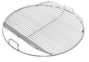 Weber  Hinged  Plated Steel  Hinged Grill Cooking Grate  For Charcoal Weber 22 in.