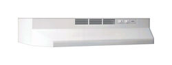 Broan  24 in. W White  Range Hood