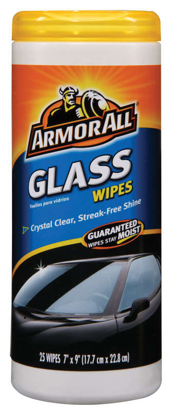 Armor All  Streak Free Glass Wipes  30 wipes