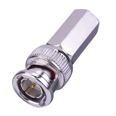 Monster Cable  Just Hook It Up  Twist-On  RG59  Coaxial Connector  2 pk