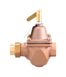 Watts  1/2 in. Female Solder Union  Bronze  Water Pressure Regulating Valve  1/2 in. FNPT  1 pk