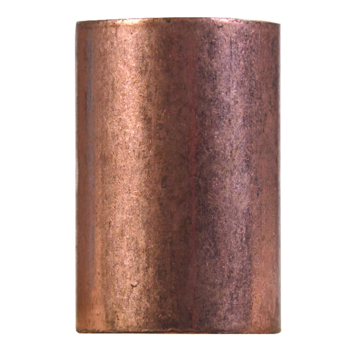 Elkhart  5/8 in. Sweat   x 5/8 in. Dia. Sweat  Copper  Coupling with Stop