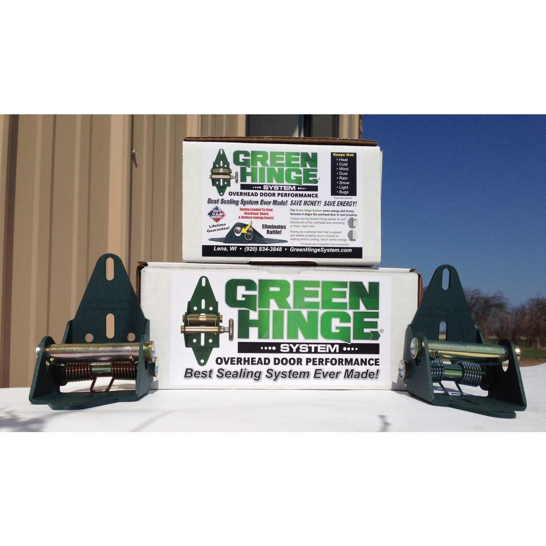 Green Hinge System Steel Residential Garage Door Hinge - Ace