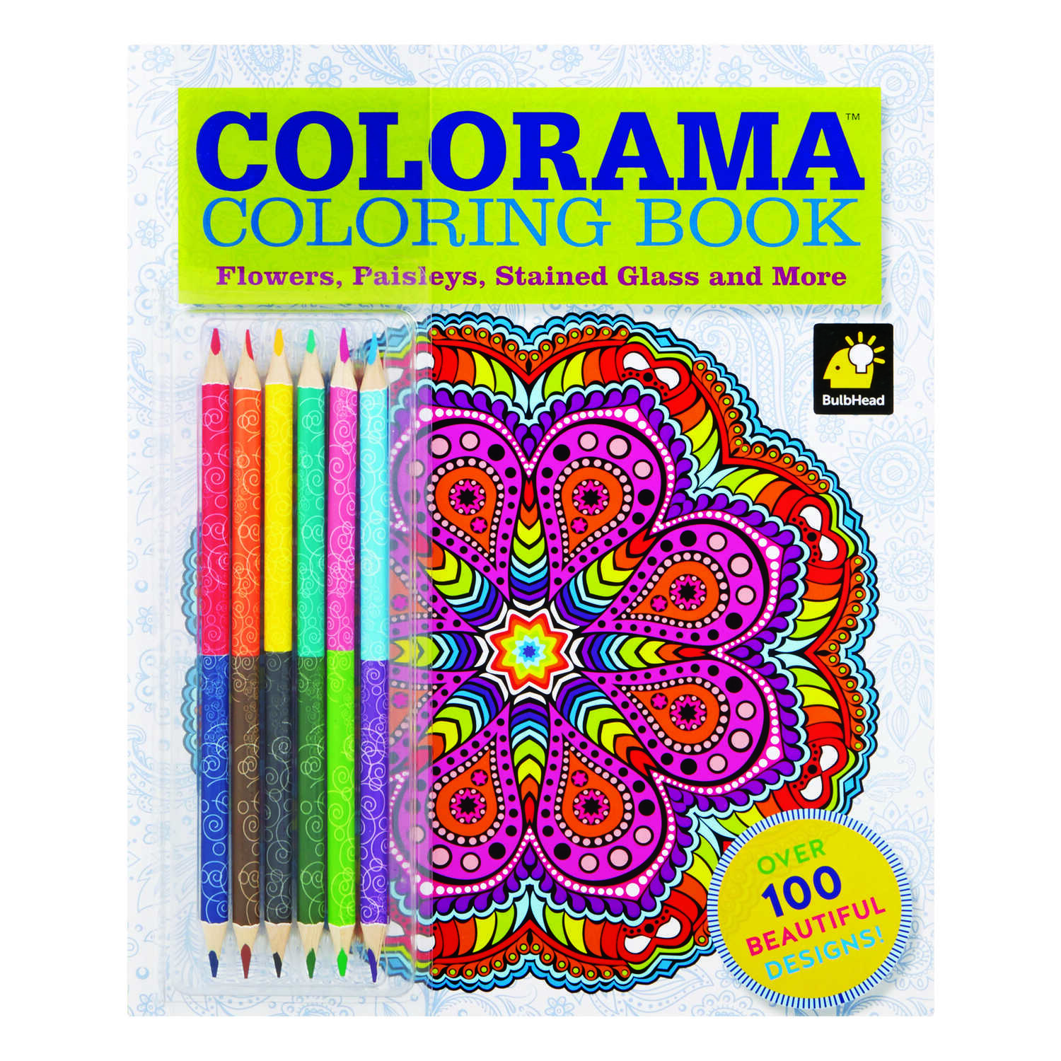 Colorama  As Seen on TV  The Magic Path Coloring Book  1 pk