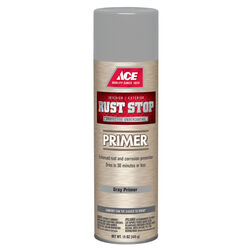 Ace  Rust Stop  Grey  Primer  15 oz.