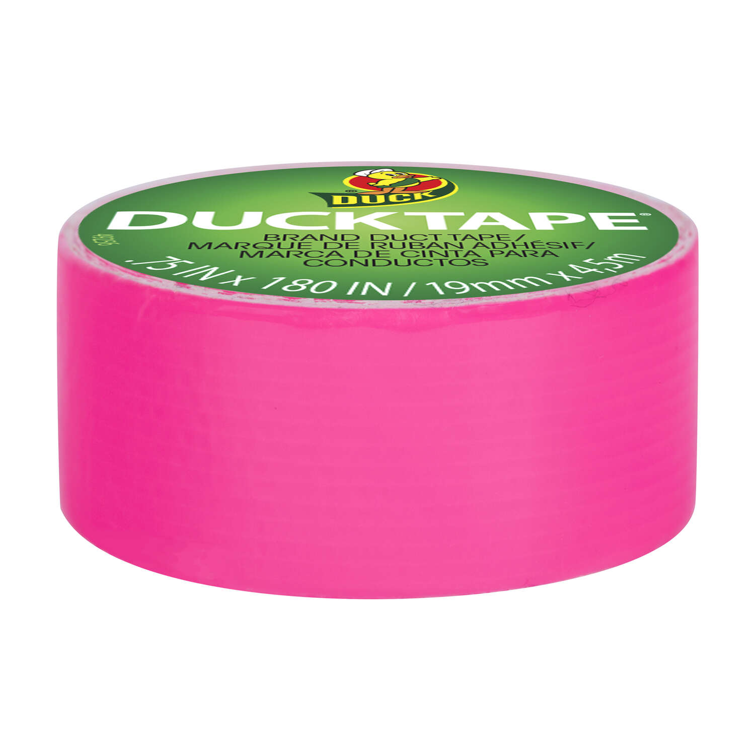 Duck Brand  180 ft. L x 0.75 in. W Duct Tape  Pink