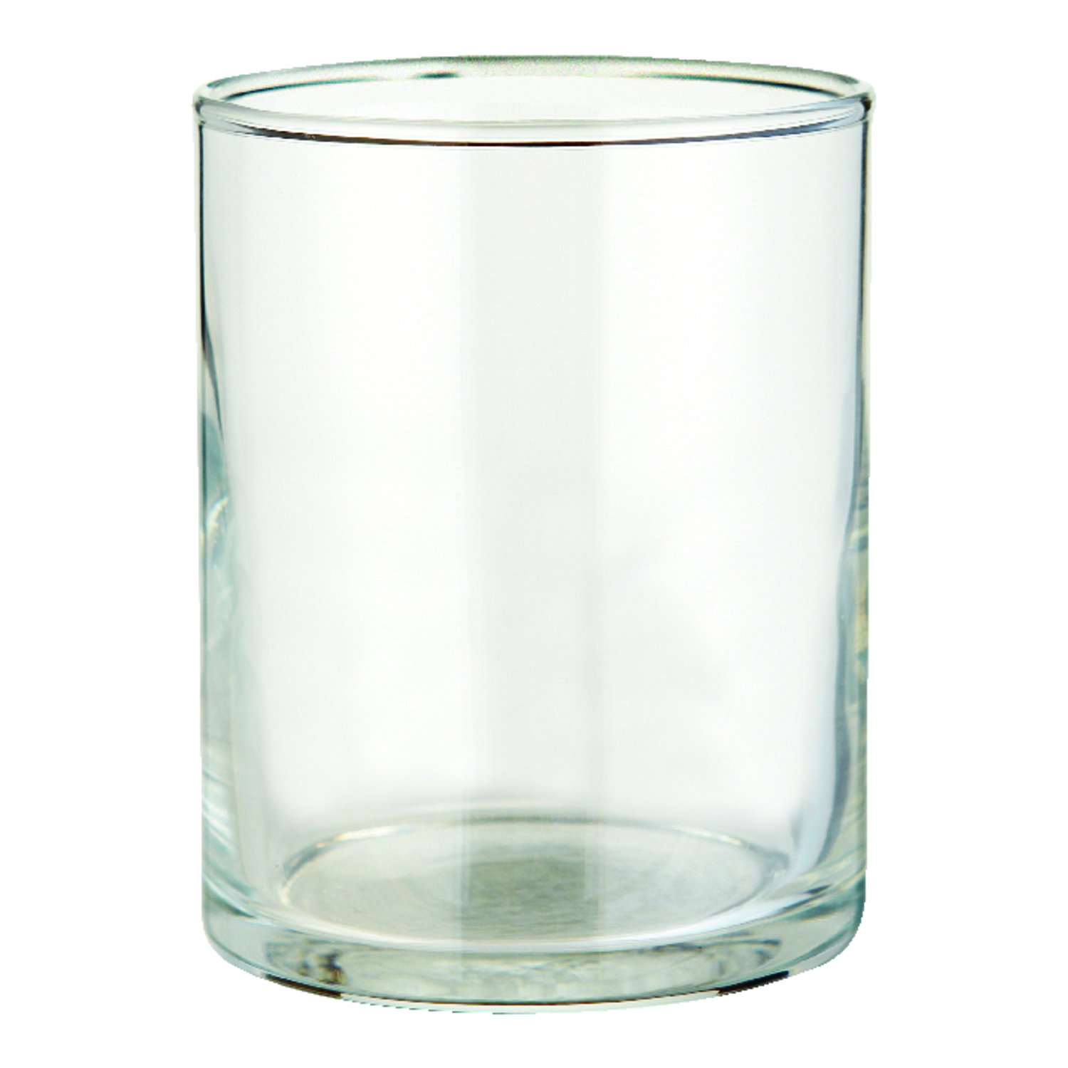 Candle-lite  2-3/4 in. H Clear  Glass  Votive Holder