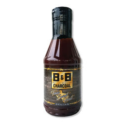 B&B Charcoal Texas Sweet Heat BBQ Sauce 20 oz.