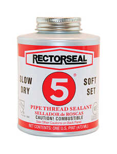 Rectorseal  Yellow  Pipe Thread Sealant  16 oz.